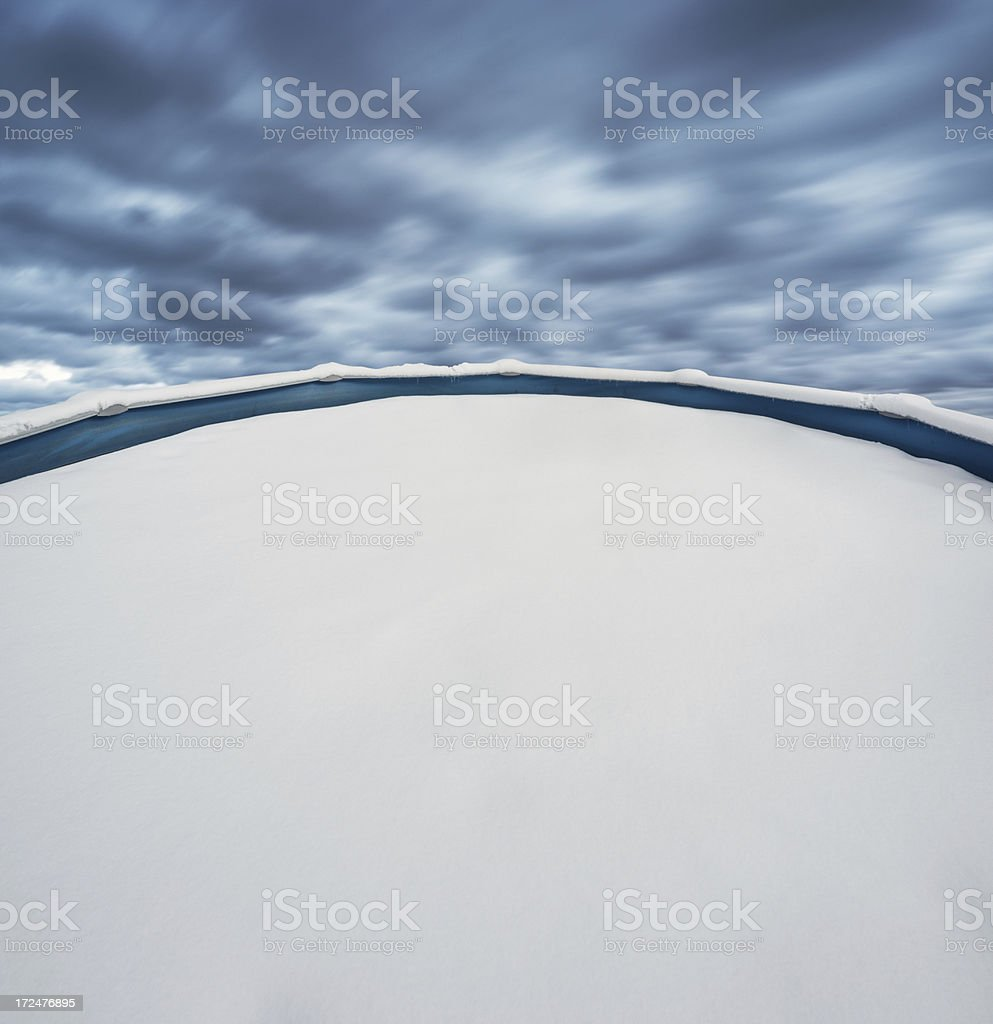 Dive into Winter royalty-free stock photo