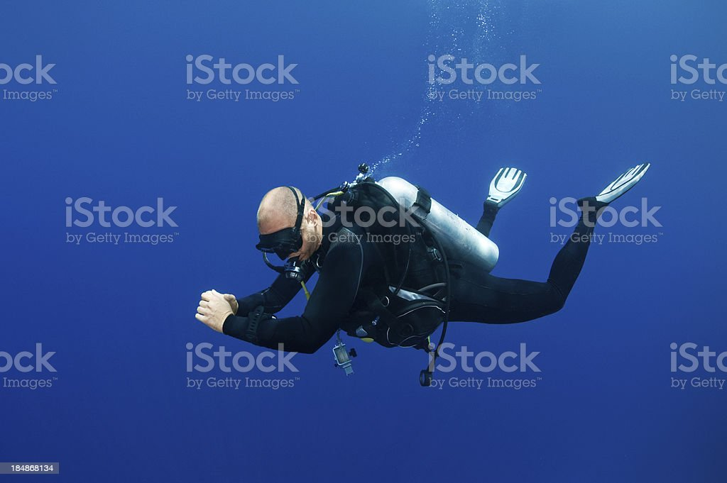 Dive Master royalty-free stock photo
