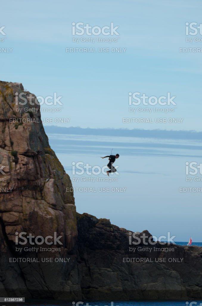 Dive stock photo