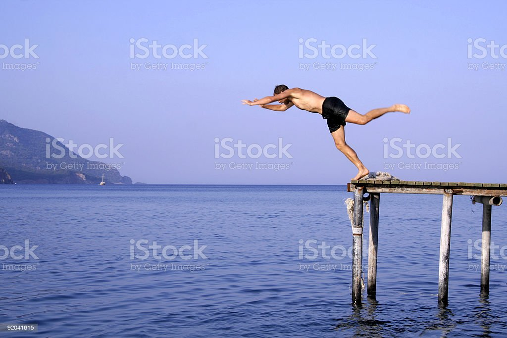 dive stock photo