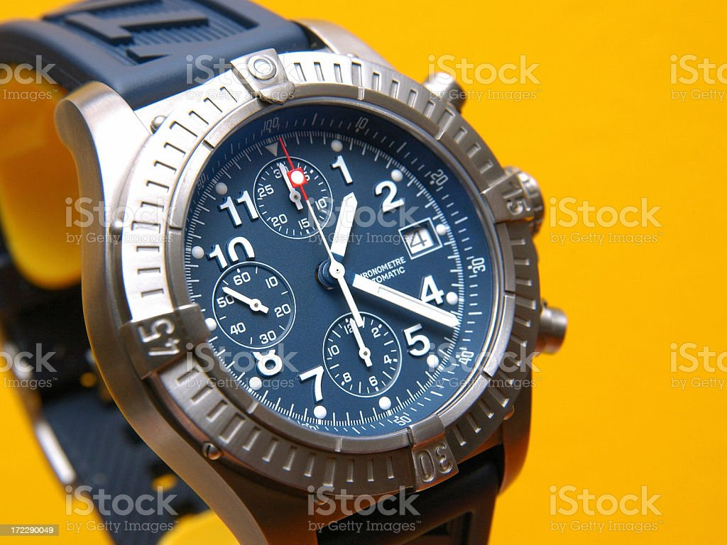 Divers Watch 3 stock photo