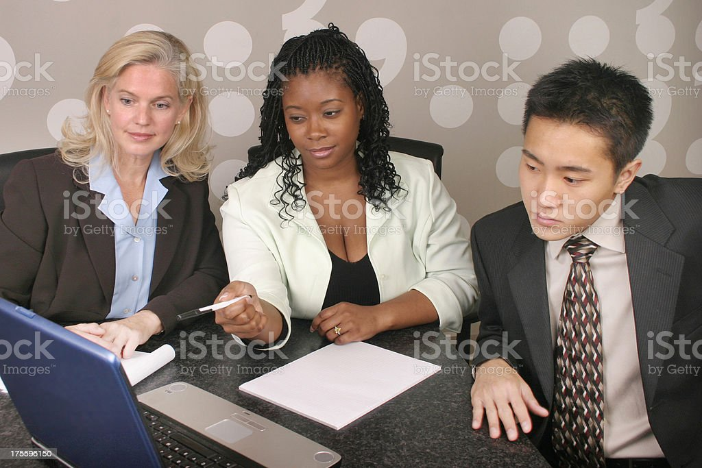 Diverse Business Meeting 6 royalty-free stock photo