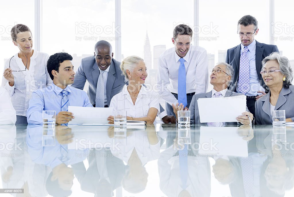 Diverse Business People Group royalty-free stock photo