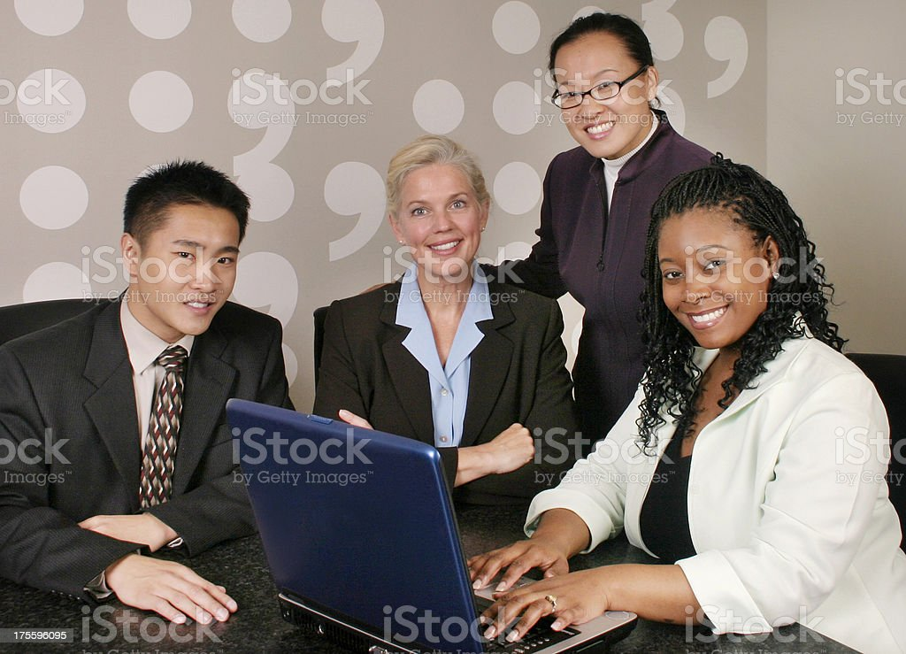 Diverse Business Team 3 royalty-free stock photo