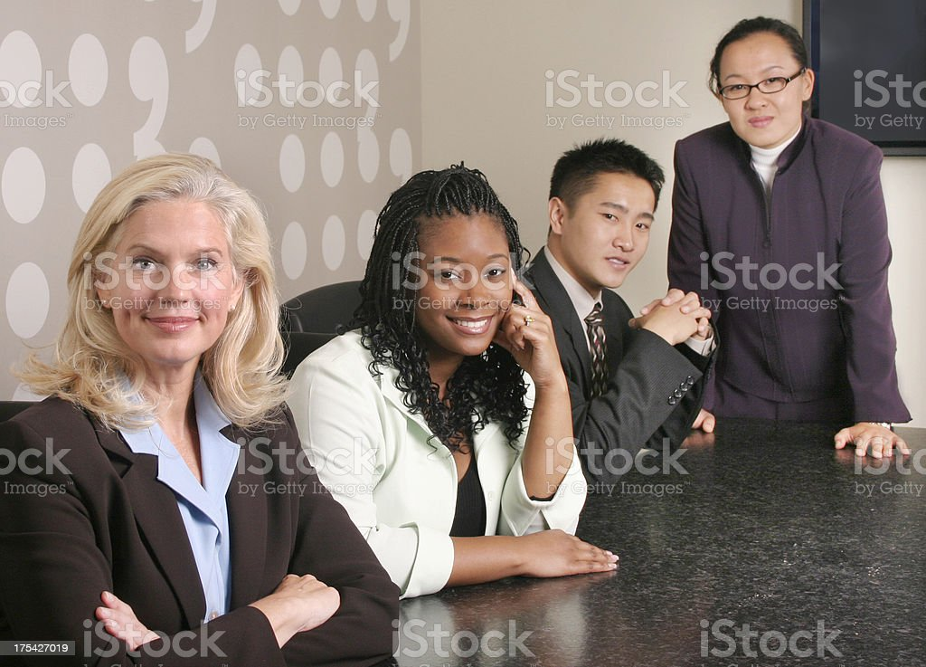 Diverse Business Team 5 royalty-free stock photo