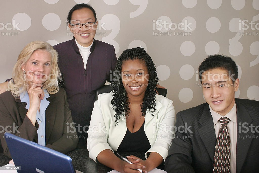 Diverse Business Team 8 royalty-free stock photo