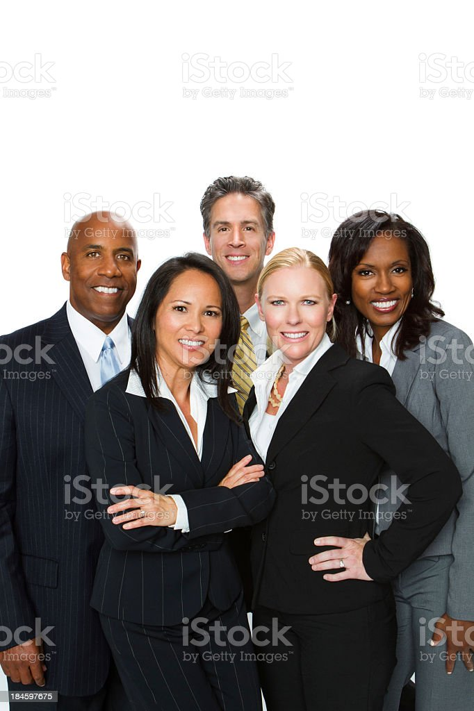 Diverse Business Team royalty-free stock photo