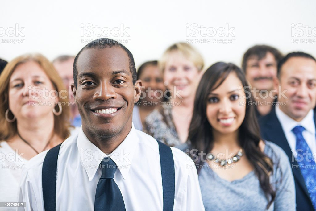 Diverse Business Team stock photo