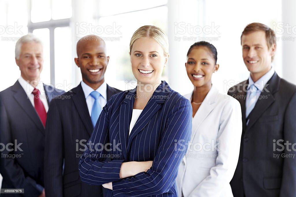 Diverse Business Team Portrait royalty-free stock photo