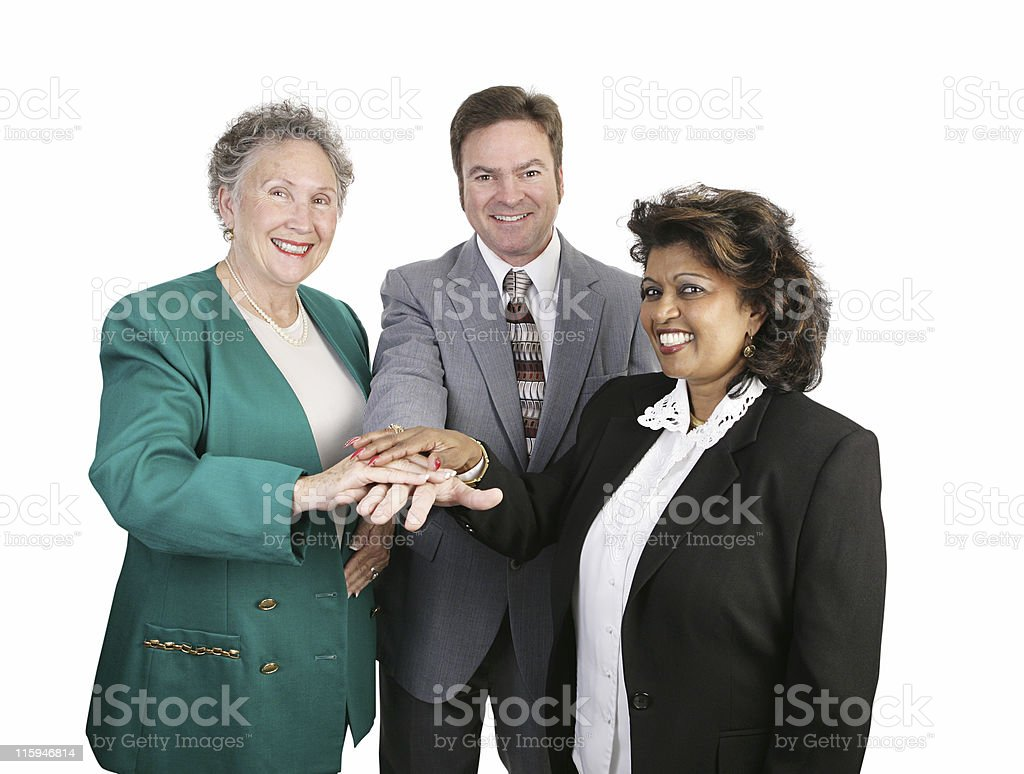Diverse Business Team - Unity royalty-free stock photo