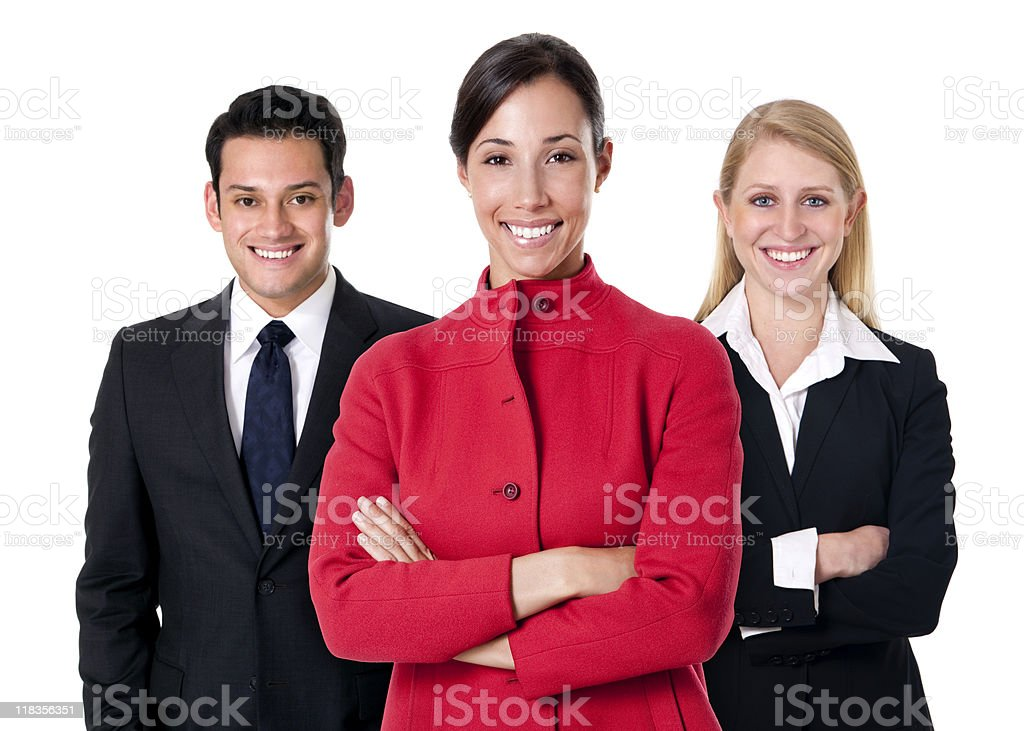 Diverse Corporate Team stock photo