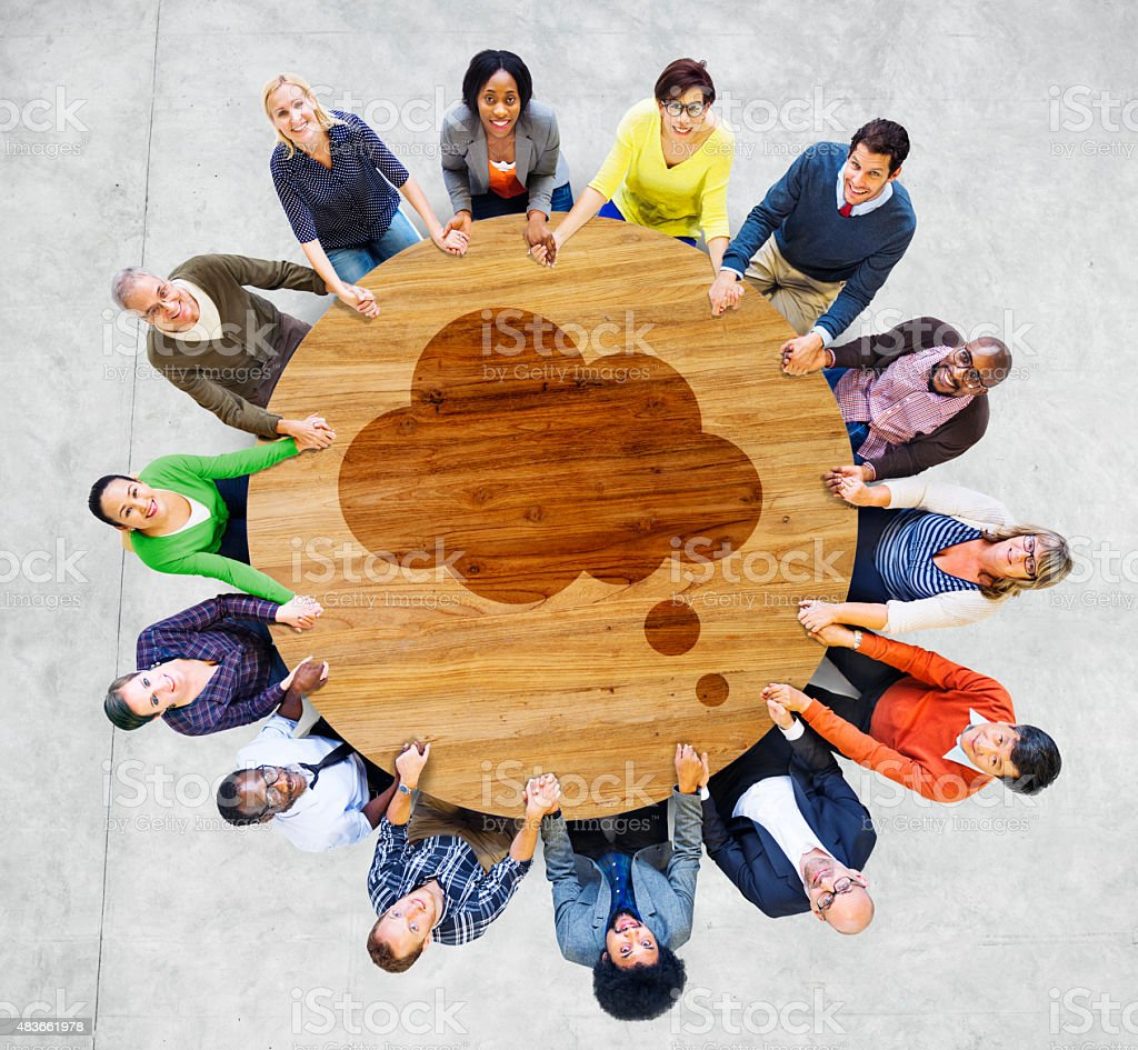 Diverse Diversity Ethnic Ethnicity Variation Unity Team Concept stock photo