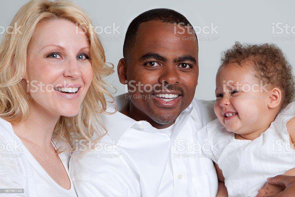 Diverse Family royalty-free stock photo