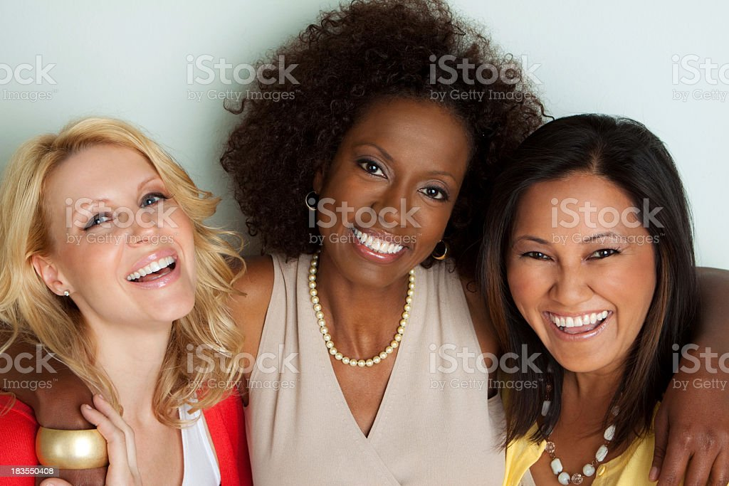 Diverse Group of Friends stock photo