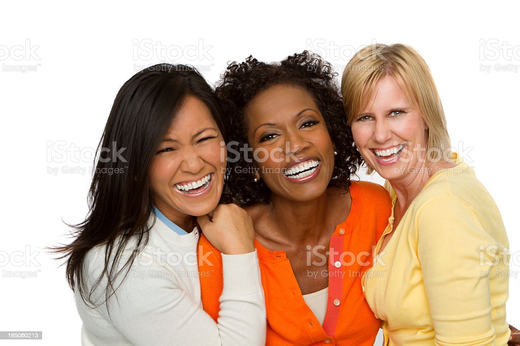 Diverse Group of Woman royalty-free stock photo