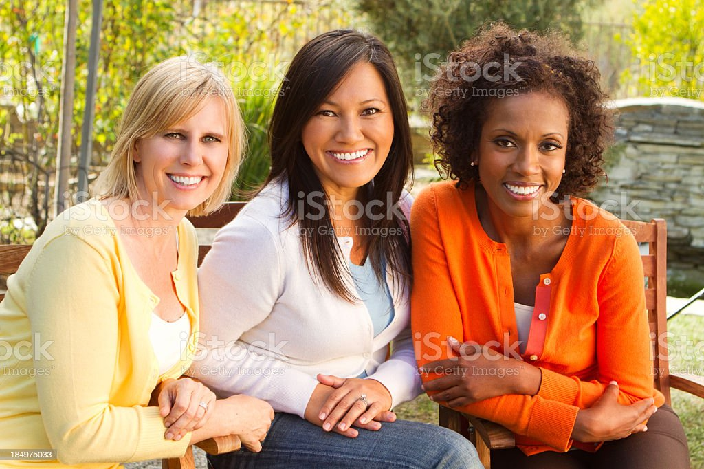 Diverse Group of Women stock photo