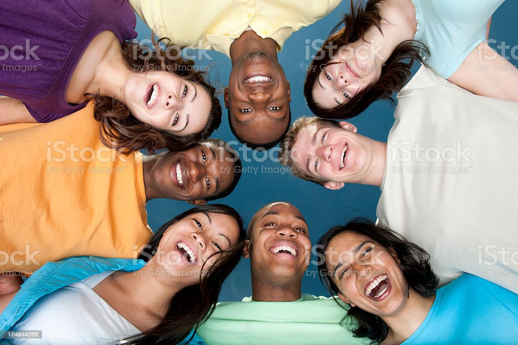 Diverse Group of Young Adults royalty-free stock photo
