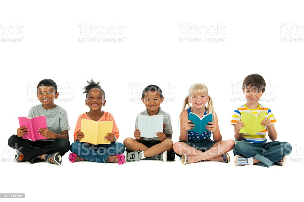 Diverse Kids stock photo