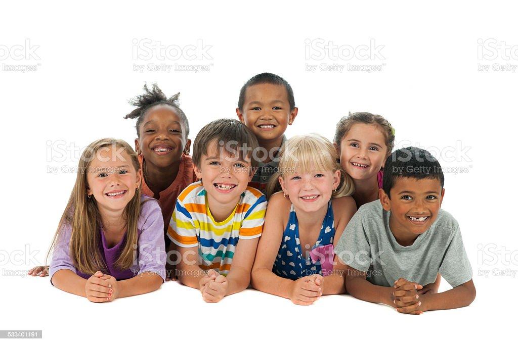 Diverse Kids stock photo