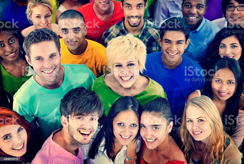 Diverse People Friends TogetheressTeam Community Concept stock photo