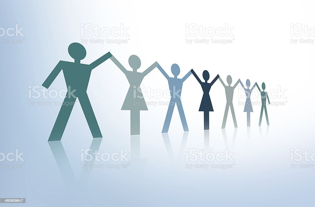 Diverse people stock photo