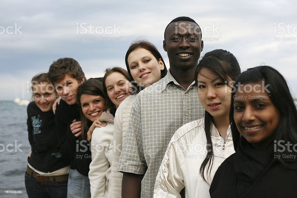 Diverse Team royalty-free stock photo
