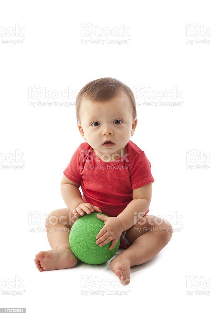 Diversity: Adorable Multiracial Toddler Boy caucasian and Vietnamese royalty-free stock photo