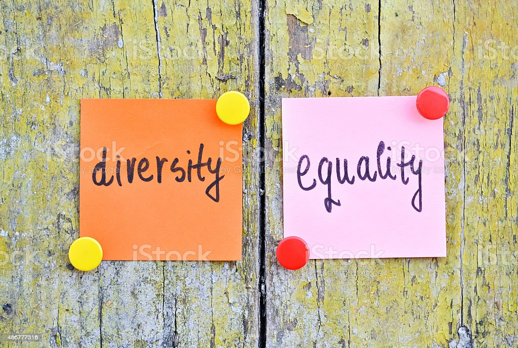 Diversity and Equality stock photo