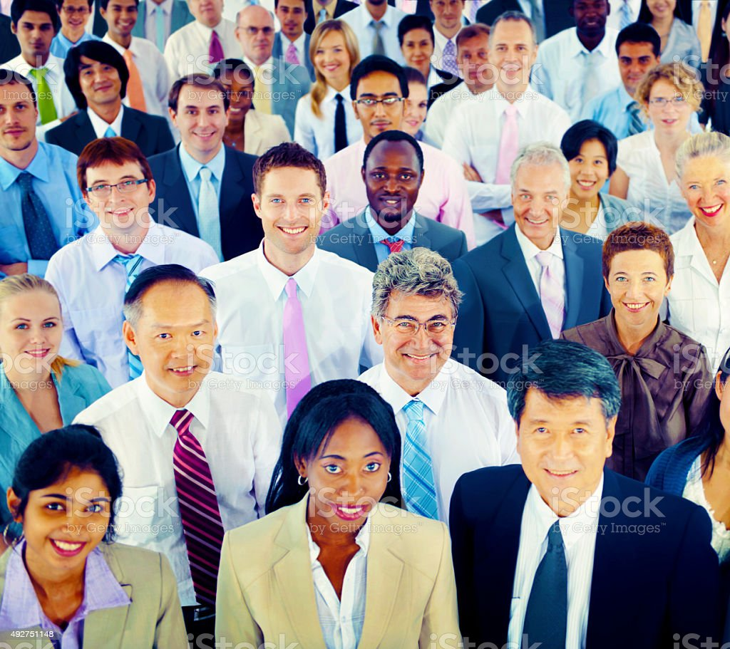 Diversity Business People Coorporate Team Community Concept stock photo