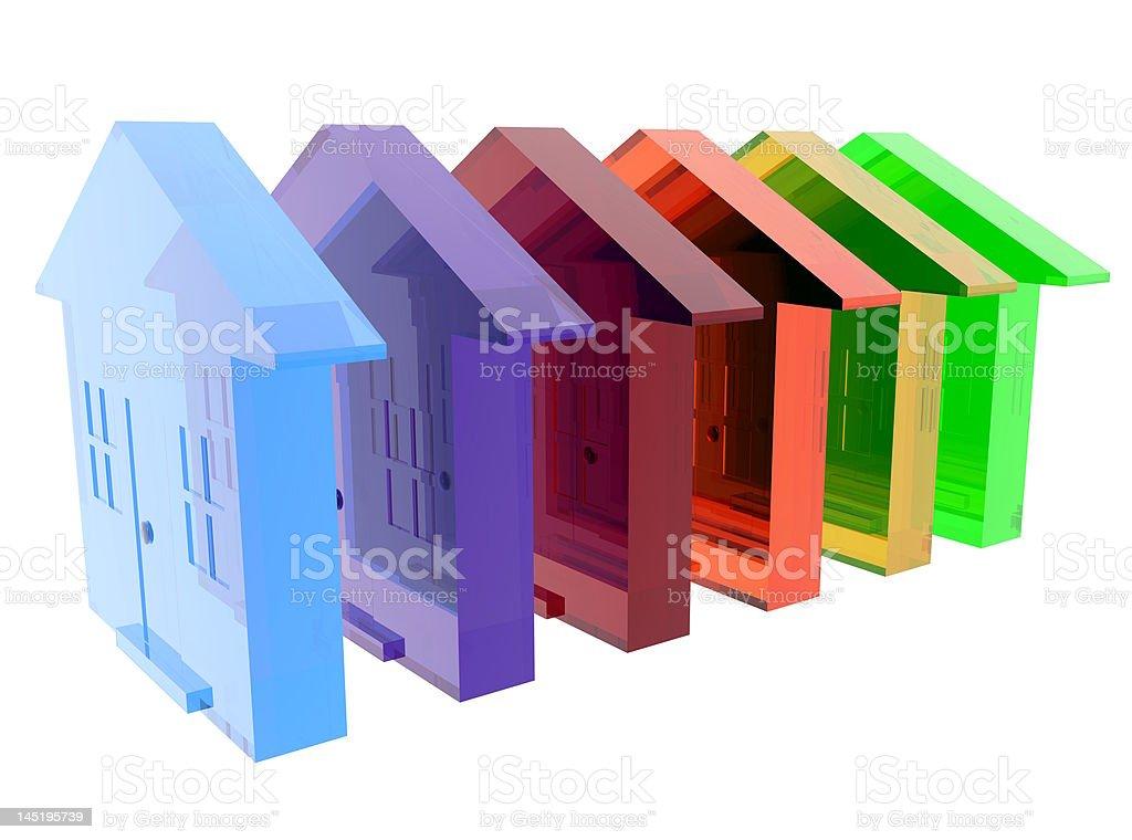 Diversity Housing stock photo