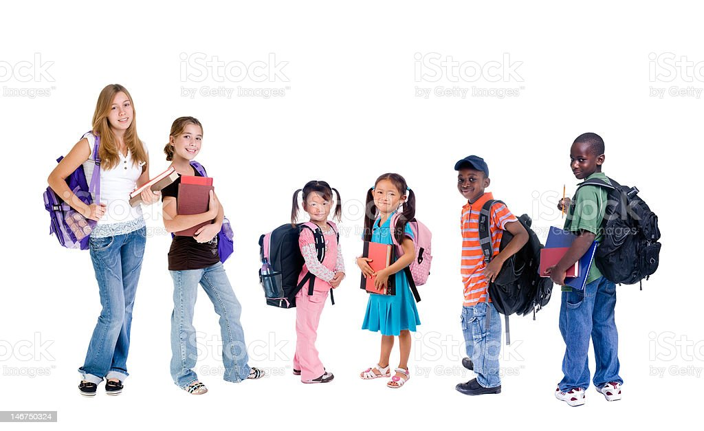Diversity in School royalty-free stock photo