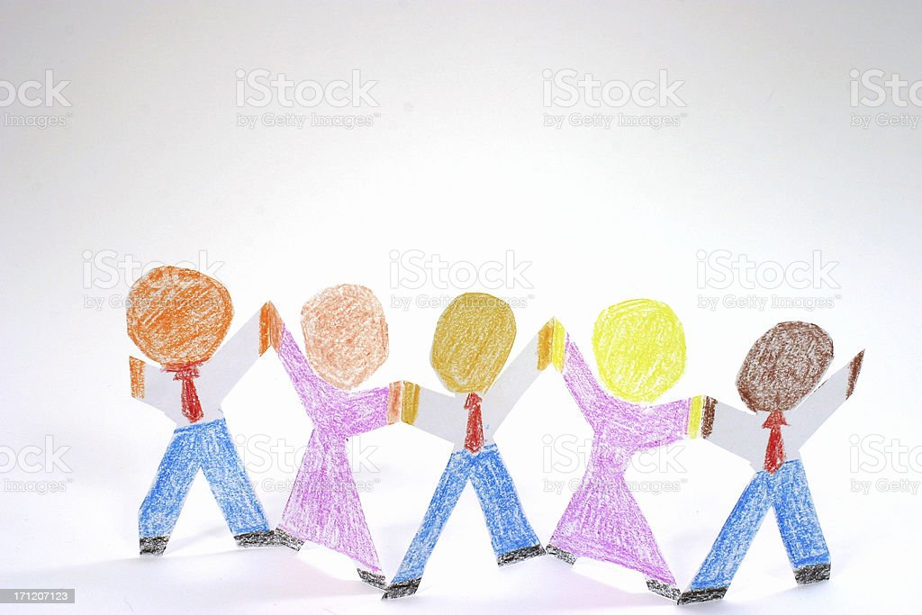 Diversity In The Workplace 2 royalty-free stock photo
