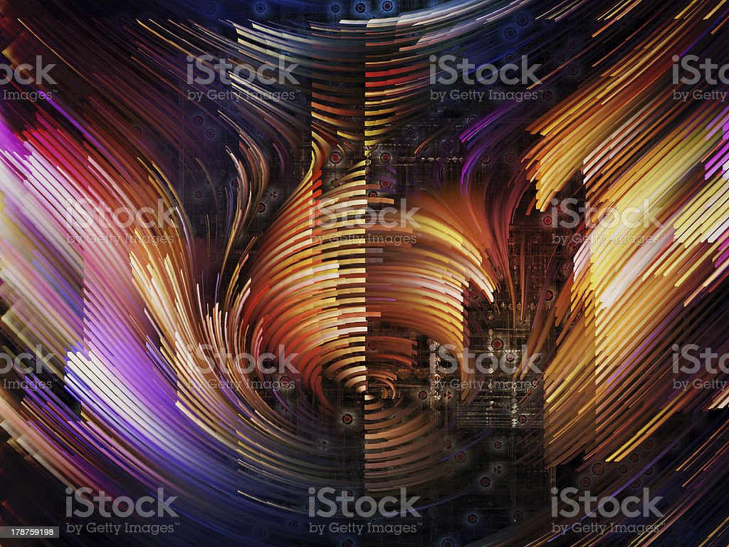 Diversity of Motion royalty-free stock vector art