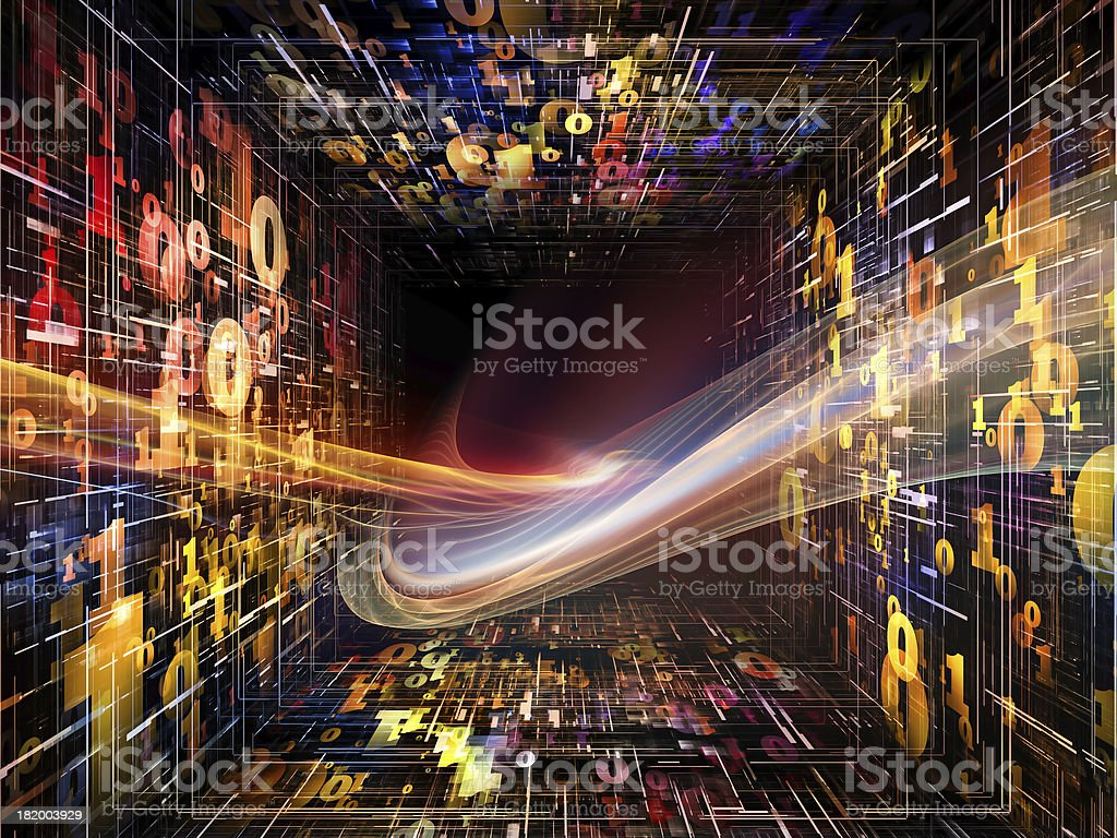Diversity of Numbers royalty-free stock photo