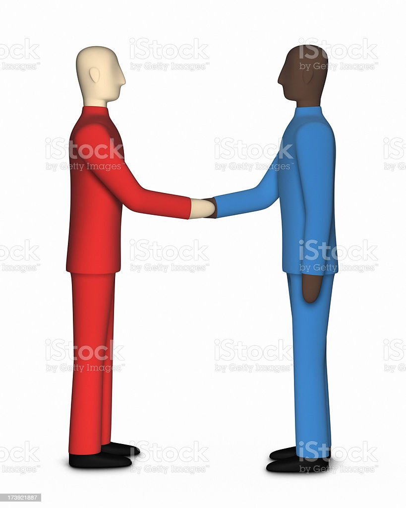 Diversity XL+ royalty-free stock photo