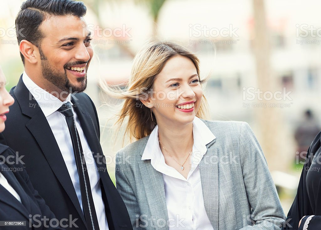 Diverstiy in business stock photo