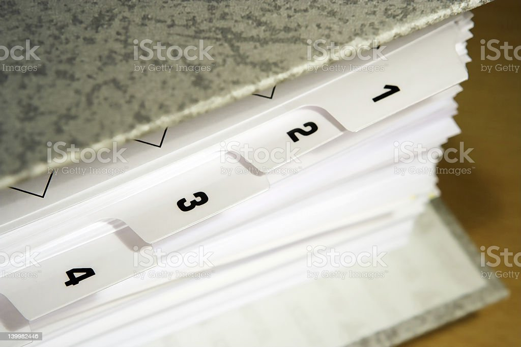 Dividers royalty-free stock photo