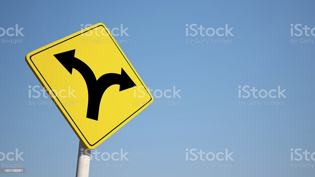 Dividing Sign with Clipping Path royalty-free stock photo