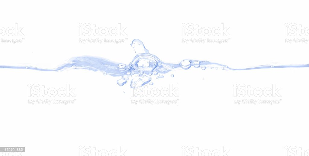 Dividing Water royalty-free stock photo