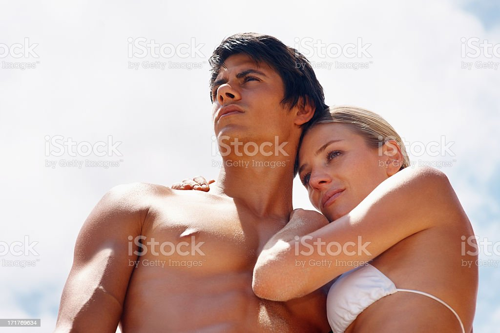 Divine beings stock photo