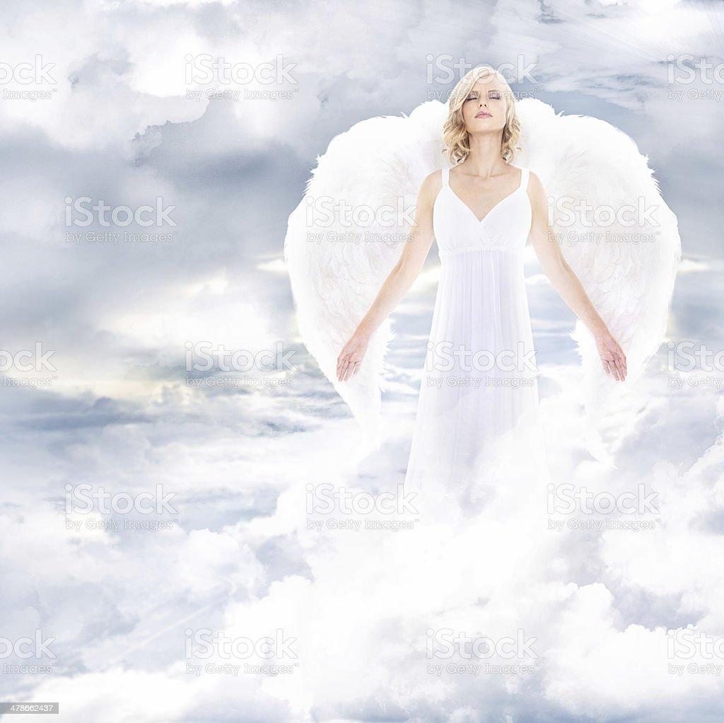 Divine goddess stock photo