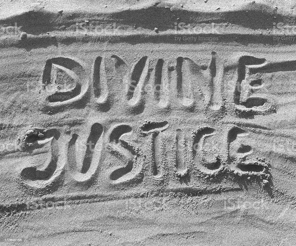 Divine Justice stock photo