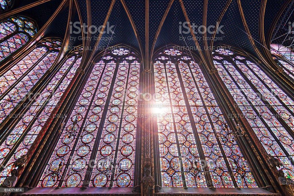 Divine lights stock photo