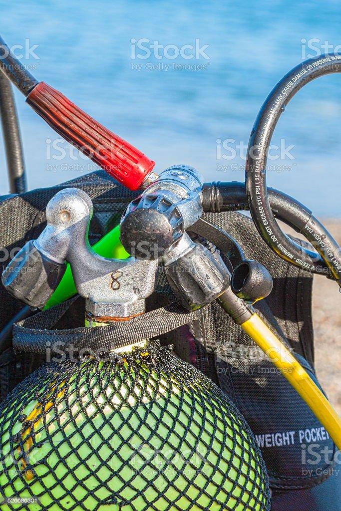 Equipamento de mergulho foto royalty-free