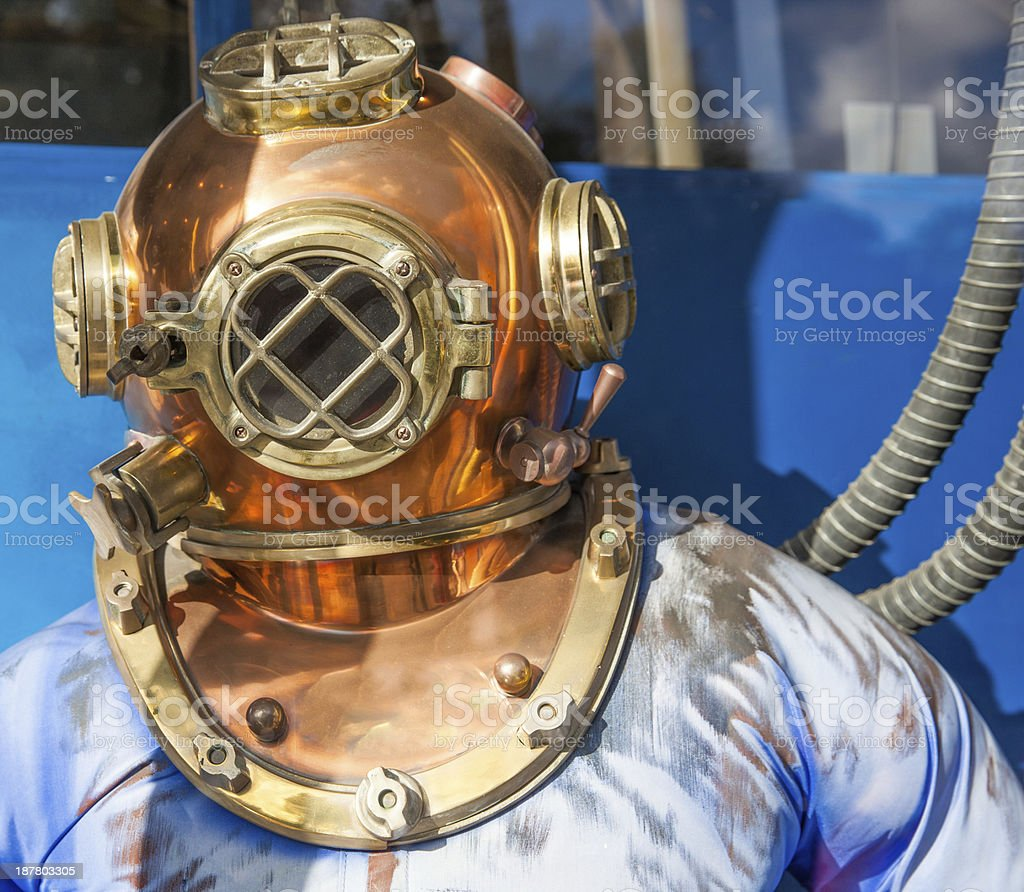 Diving Helmet stock photo