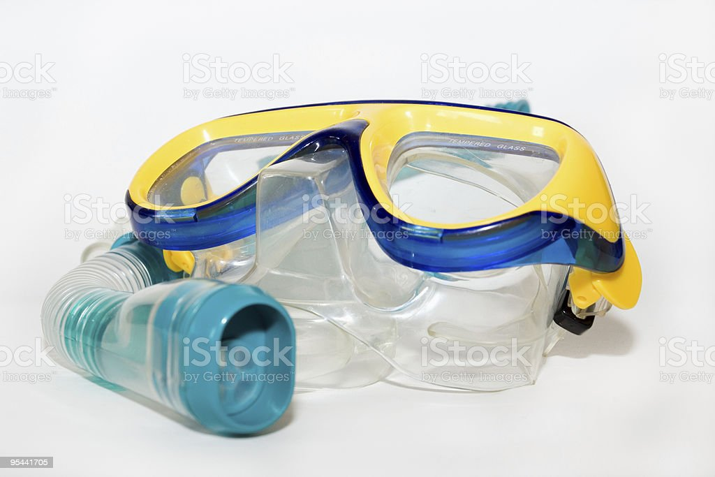 diving mask royalty-free stock photo