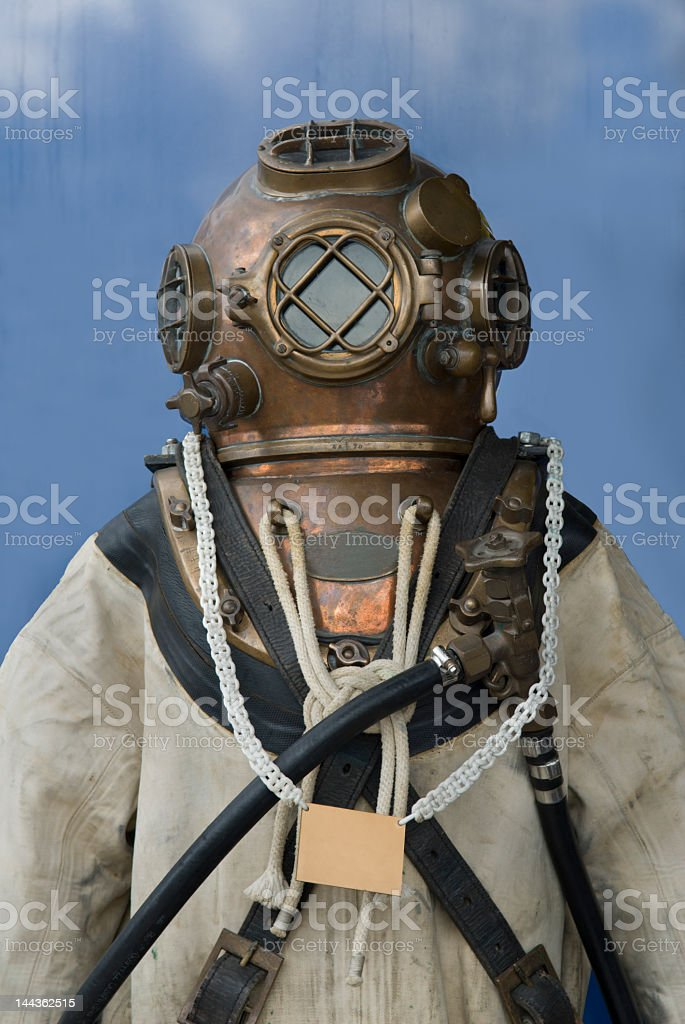 Diving suit stock photo