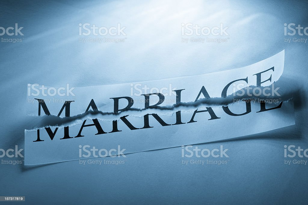 Divorce royalty-free stock photo