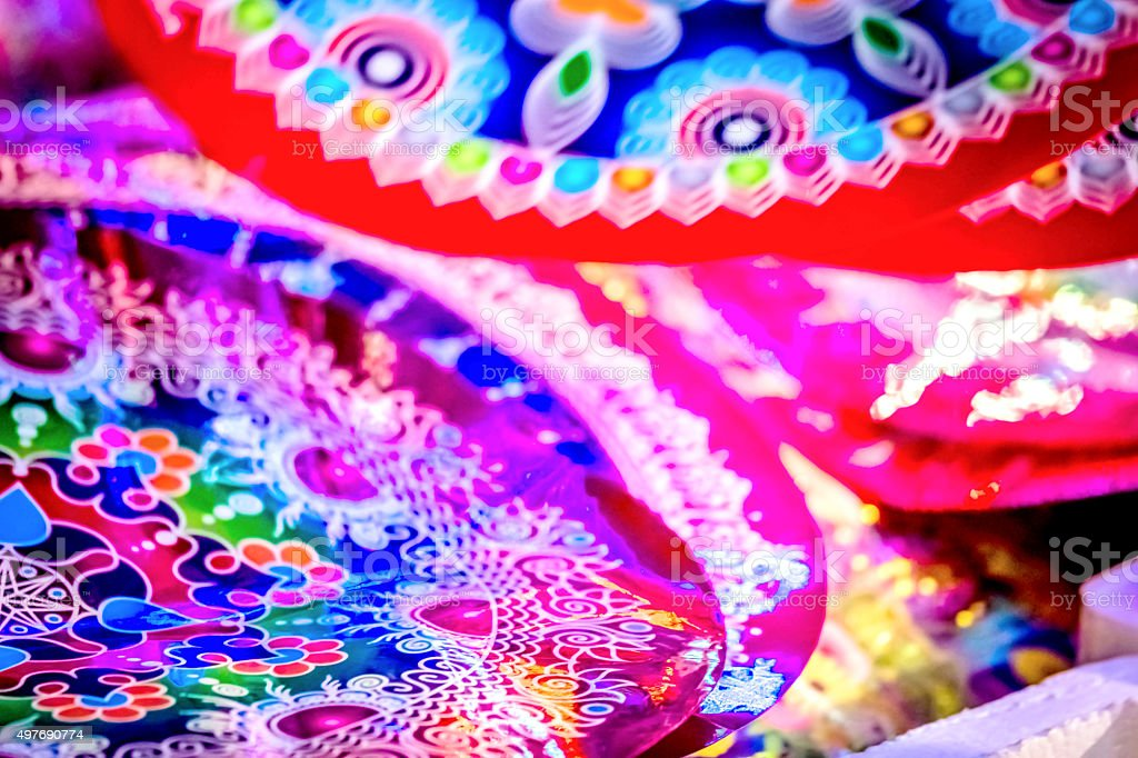 Diwali decoration stock photo