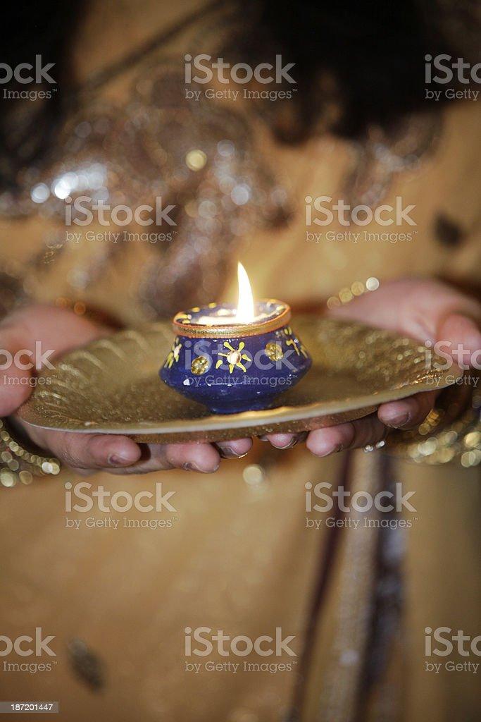 Diwali Indian Wedding Lights royalty-free stock photo